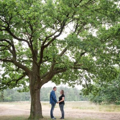 HEIJBLOM FOTOGRAFIE-familiefotografie-Mastbos-Breda-echtpaar-onder-een-boom