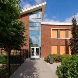 HEIJBLOM FOTOGRAFIE-bouwfotografie--zijkant-Eben Haëzer school-Barneveld-Van-Vliet-Bouwmanagement